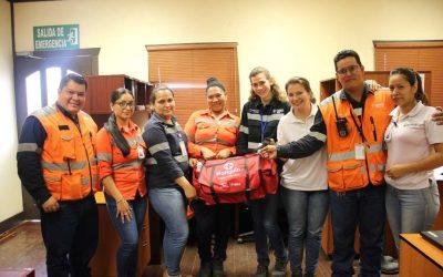 SISO inicia entrega de botiquines de primeros auxilios