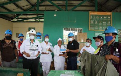 HEMCO apoya prevención del Covid-19 en Bonanza
