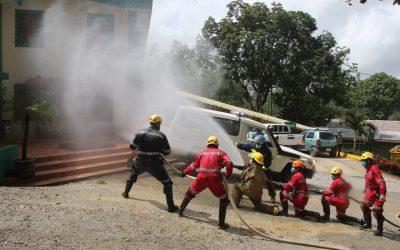 Brigada de rescate de HEMCO se capacita