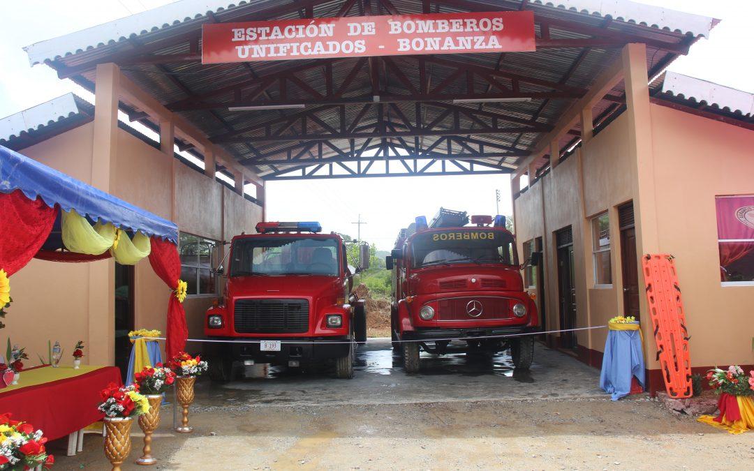 Bonanza estrena estación de bomberos