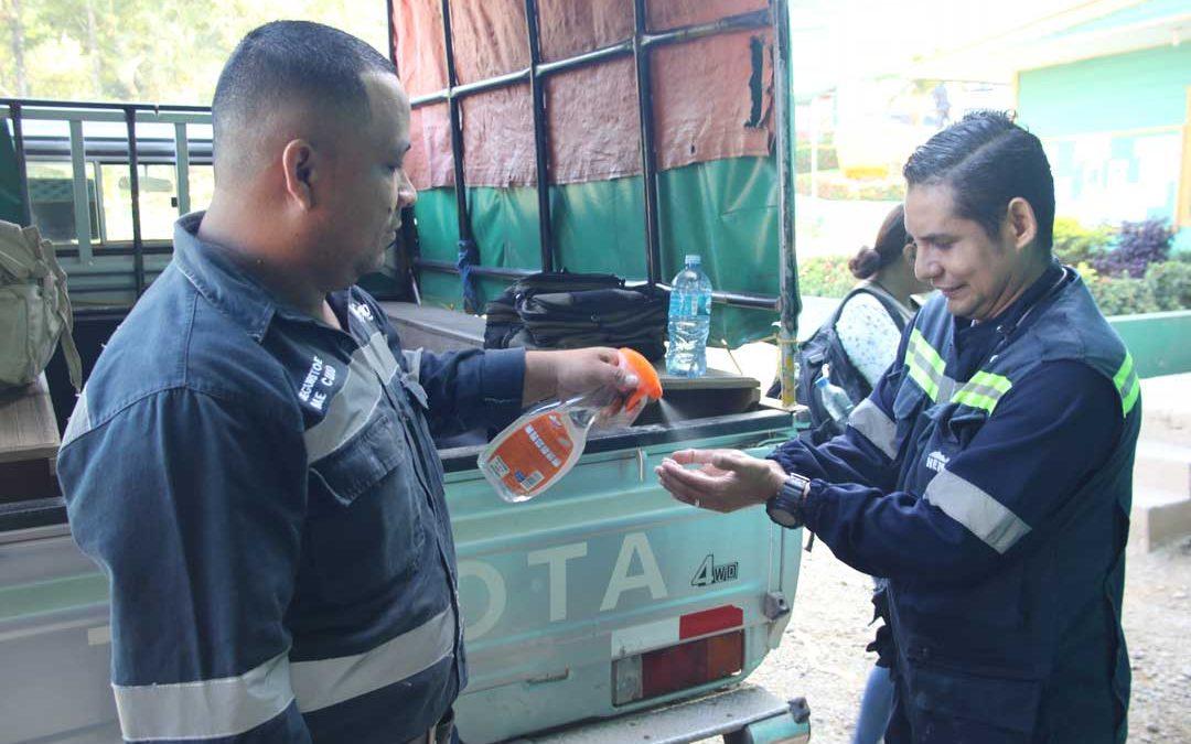 HEMCO toma medidas de prevención ante pandemia del Covid -19