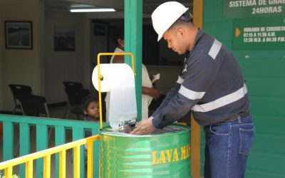 HEMCO instala estaciones de limpieza para prevenir el Covid-19