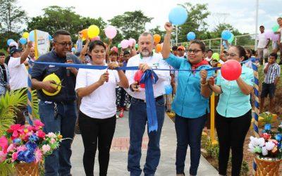 Bonanza inaugura primer gimnasio al aire libre