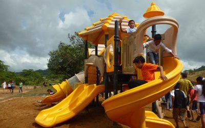 PODU inauguró segunda etapa de parque municipal