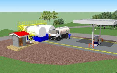 Nueva estación de combustible