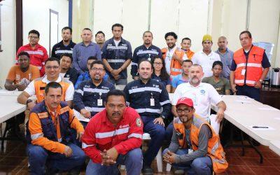 HEMCO capacita a la Brigada de Emergencia y Rescate