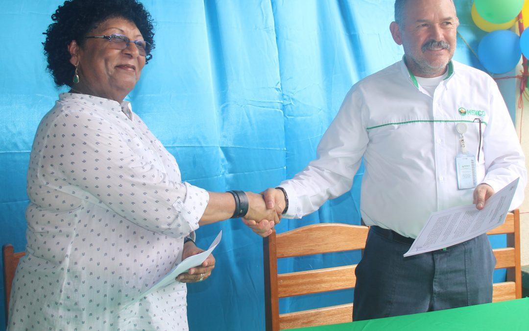 HEMCO y URACCAN firman convenio de colaboración