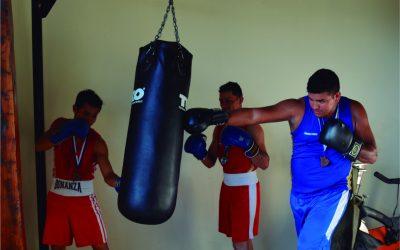 Boxeadores mineros