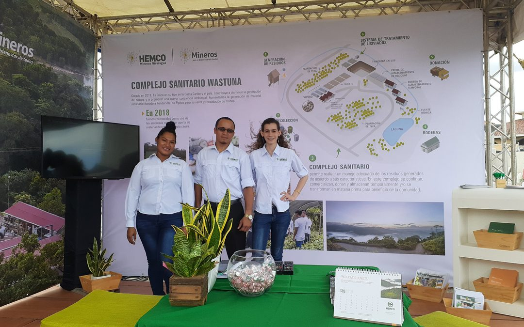 Presentes en feria Nicaragua sí recicla