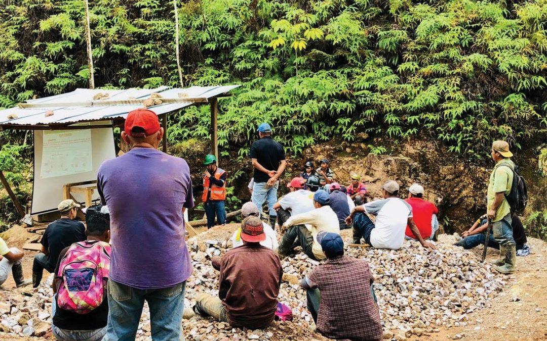 Modelo Bonanza capacita a 753 mineros artesanales