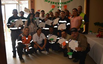 Colaboradores culminan Programa de Alfabetización