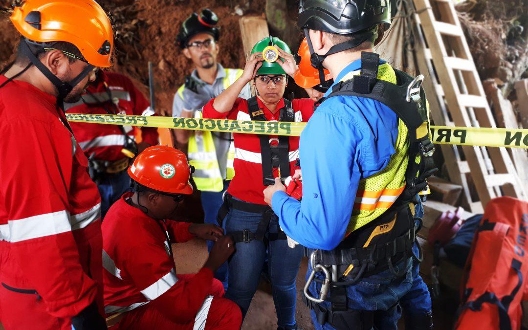 Pruebas en nuevos equipos de rescate