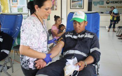 HEMCO promueve la donación de Sangre