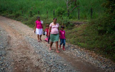 PODU mejora vías de acceso a comunidades rurales